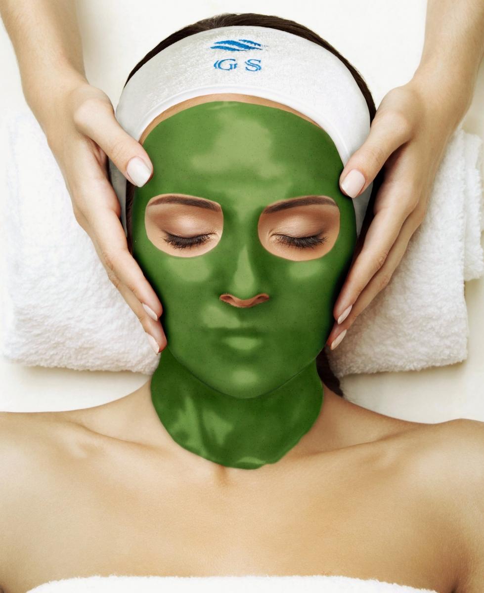 Альгинатная маска с хвощем для жирной кожи