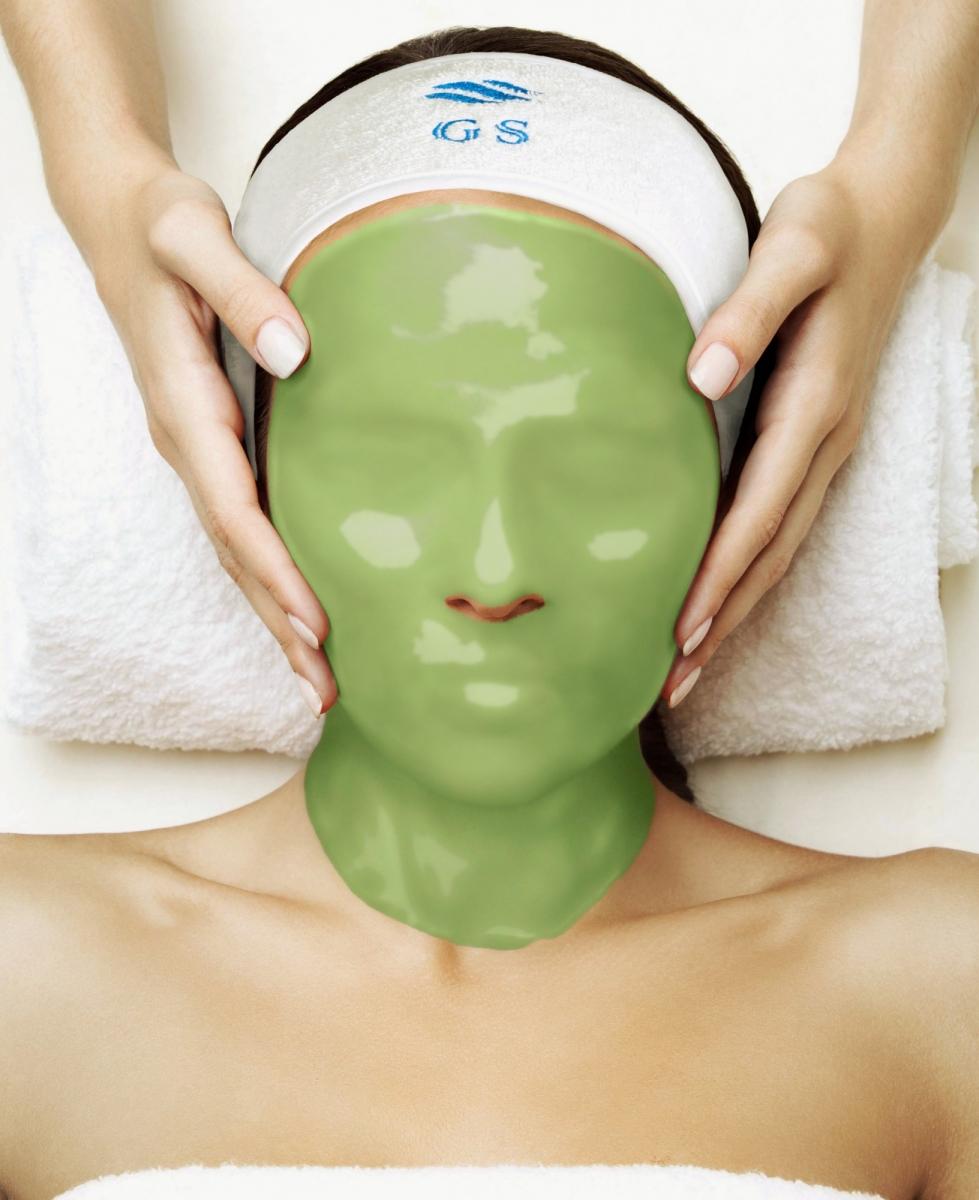 Альгинатная маска с экстрактом алоэ вера