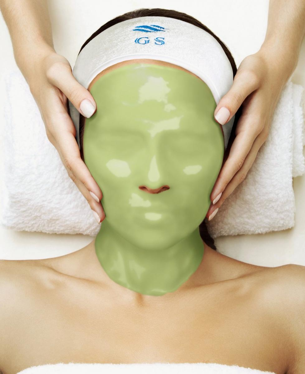 Альгинатная маска с экстрактом зеленого кофе