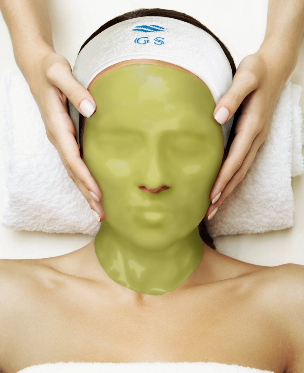 Альгинатная маска с экстрактом женьшеня