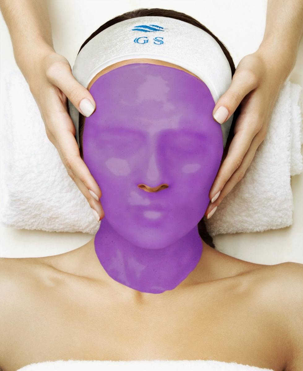 Альгинатная маска с антиоксидантами