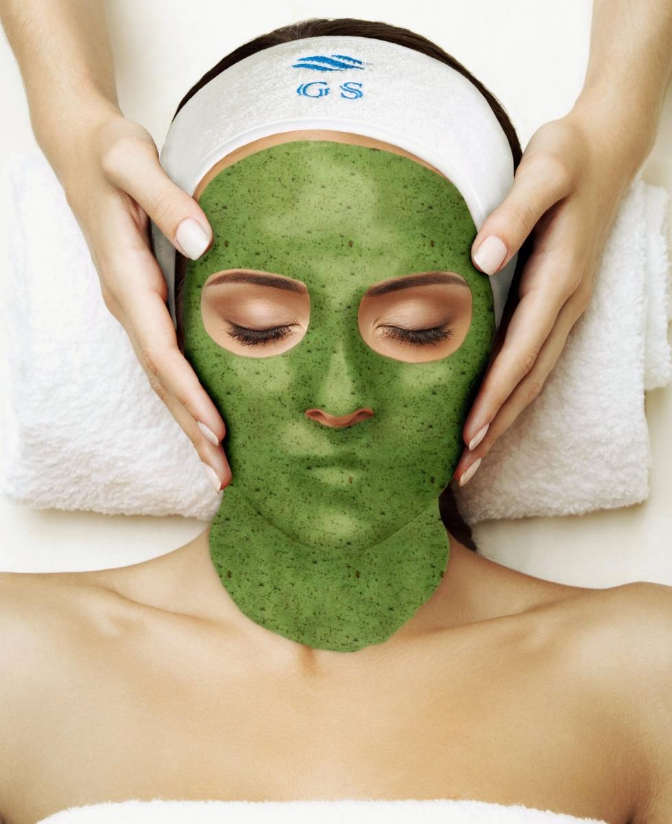 Альгинатная маска с чередой и чистотелом