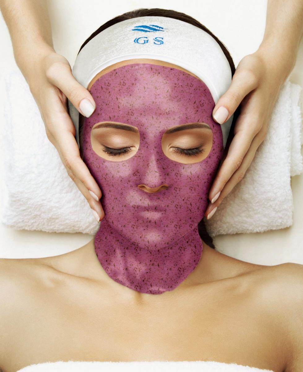 Альгинатная маска с бадягой и хвощем